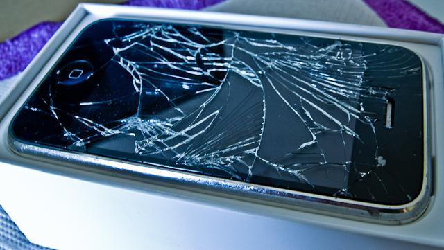 Das iPhone nach dem Auspacken